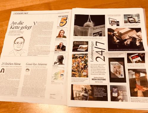 Einfach besser wirken mit der Frankfurter Allgemeinen